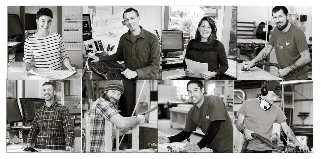 Beech Tree Woodworks Team - the Puget Sound Commercial Cabinet Builder.